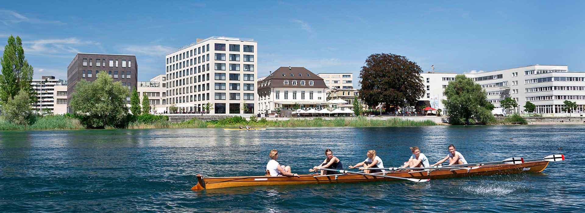 Hotel Konstanz Seerhein Schiff